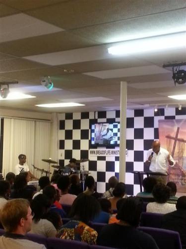 Service with Pastor Joe